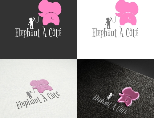 Elephant À Côté
